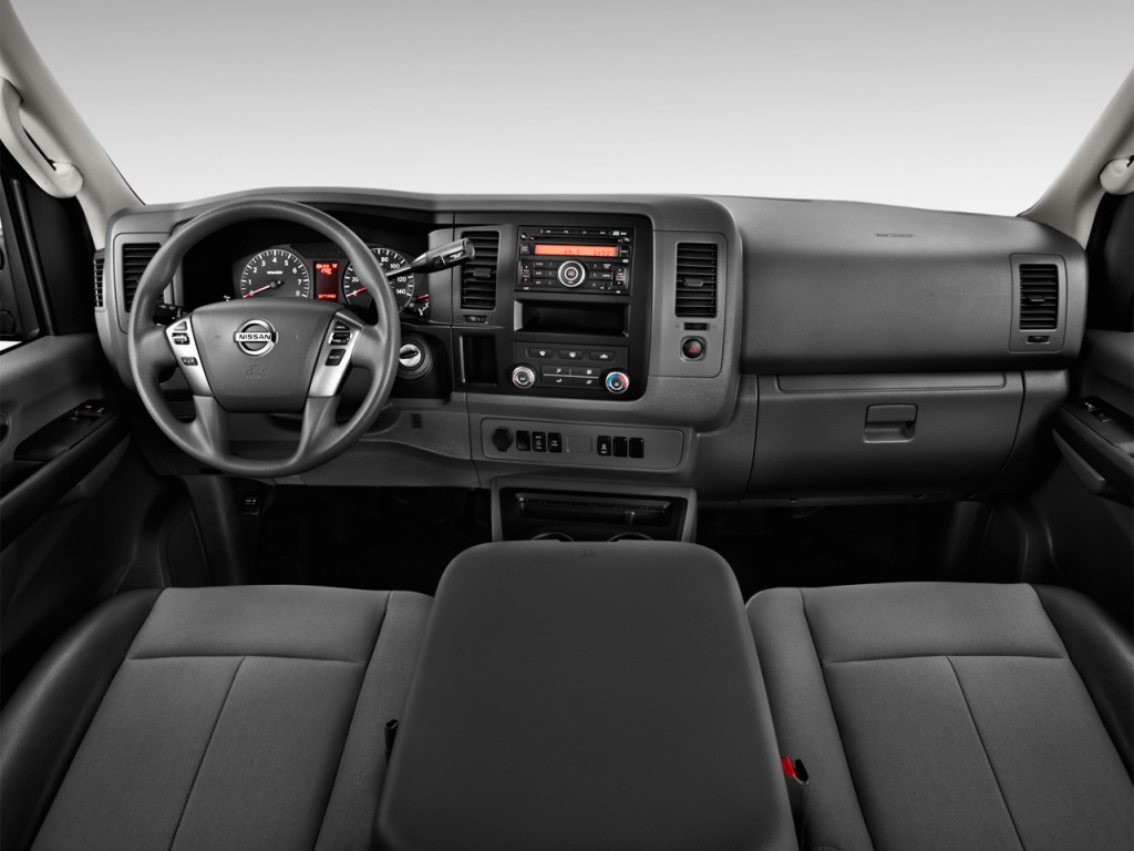 2018 Nissan Rogue Sport >> Image: 2017 Nissan NV Cargo NV3500 HD Standard Roof S V8 Dashboard, size: 1024 x 768, type: gif ...