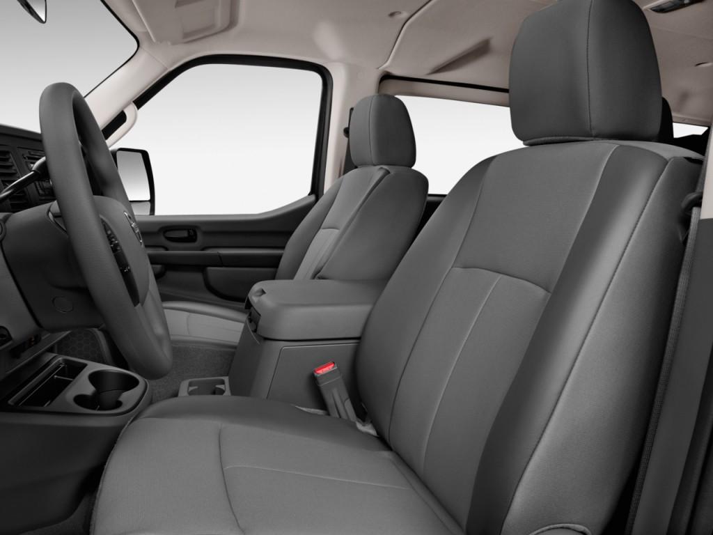 Image: 2017 Nissan NV Passenger V8 SV Front Seats, size ...