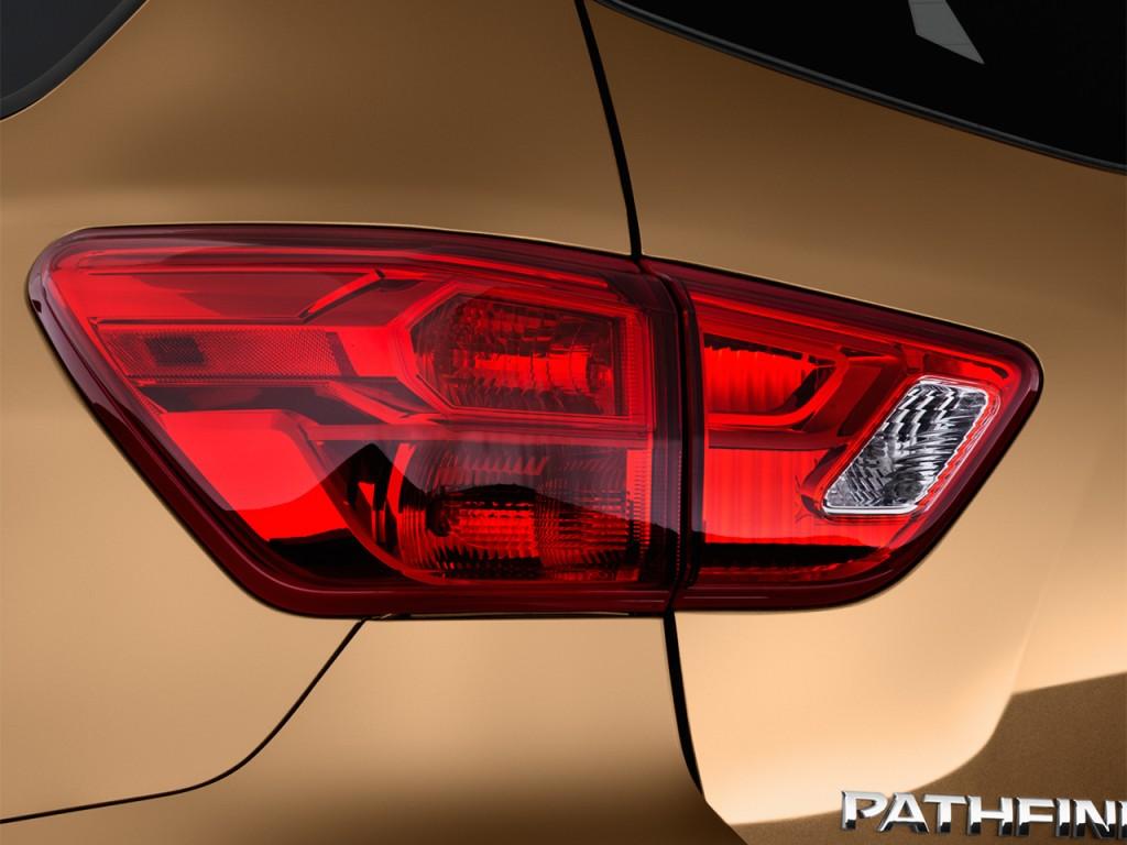 Image: 2017 Nissan Pathfinder 4x4 Platinum Tail Light ...