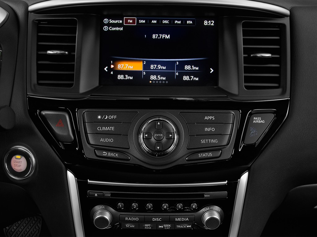 Image: 2017 Nissan Pathfinder 4x4 S Audio System, size ...