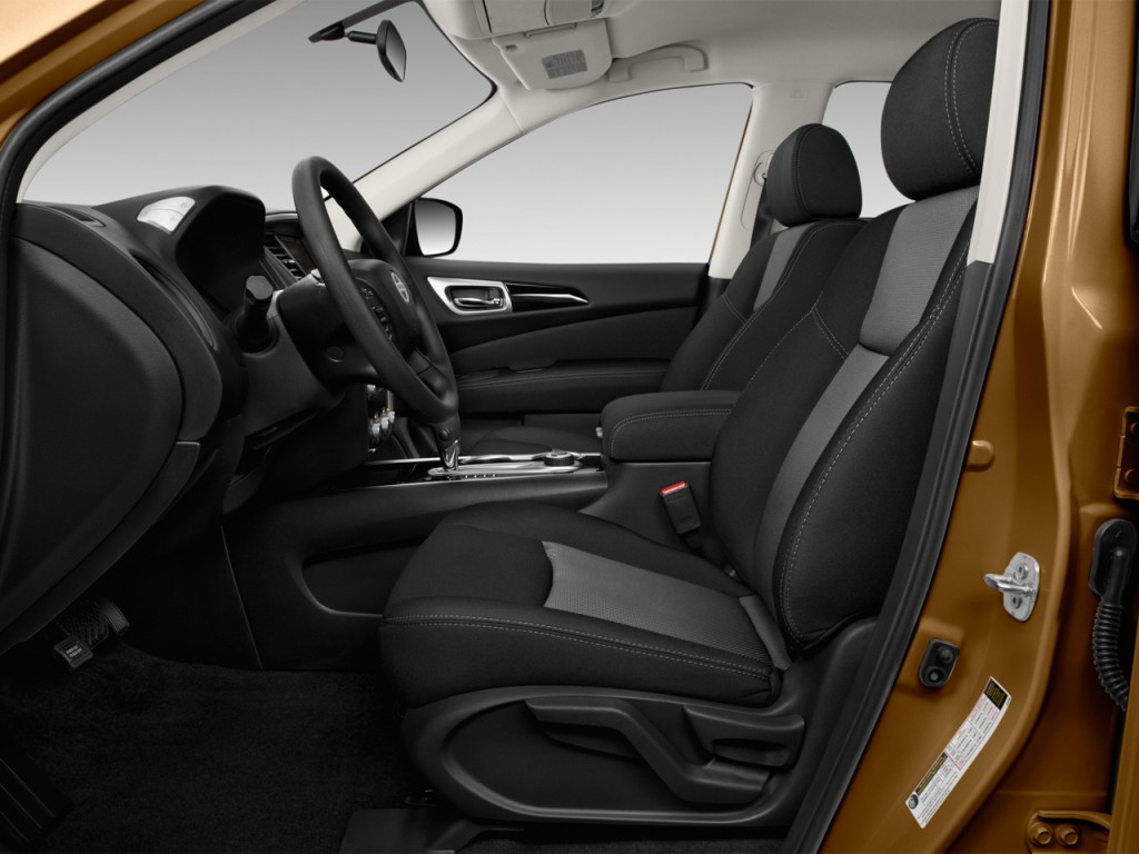 image 2017 nissan pathfinder 4x4 s front seats size 1024 x 768 type gif posted on may 17. Black Bedroom Furniture Sets. Home Design Ideas