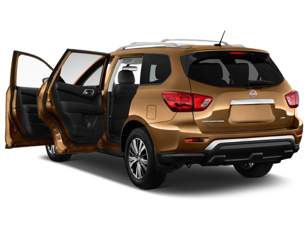 Image: 2017 Nissan Pathfinder 4x4 S Open Doors, size: 1024 ...