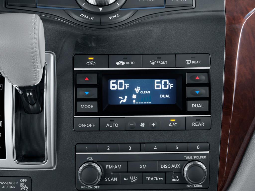 Image 2017 Nissan Quest Platinum Cvt Temperature Controls