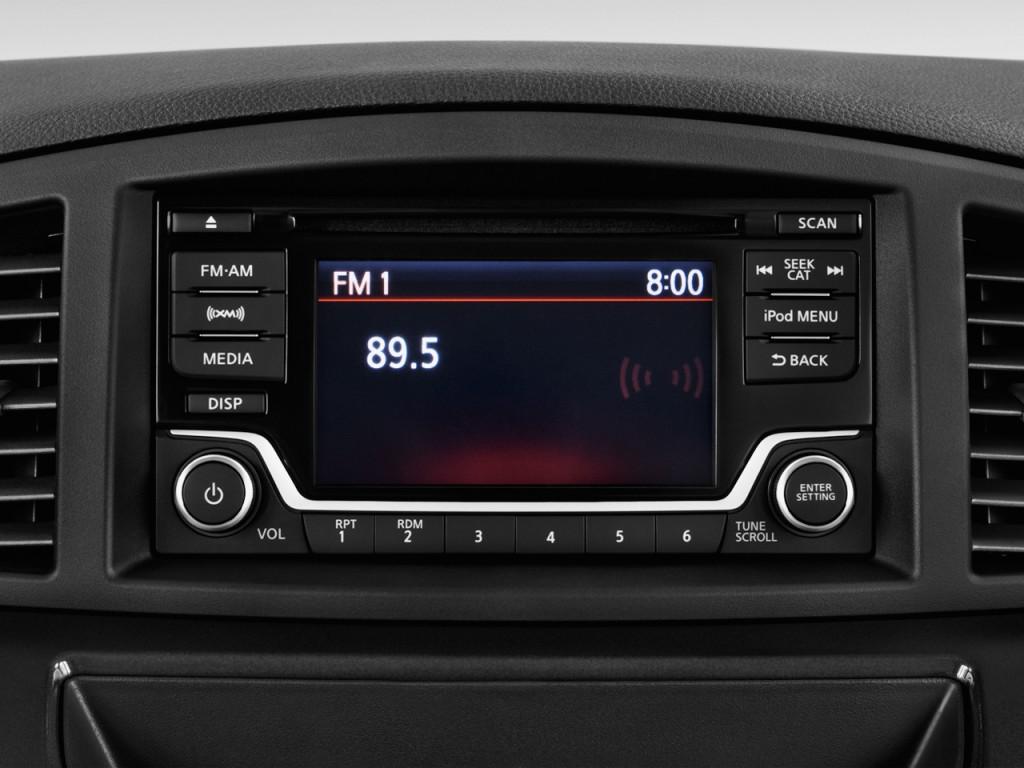 Image: 2017 Nissan Quest SV CVT Audio System, size: 1024 x ...