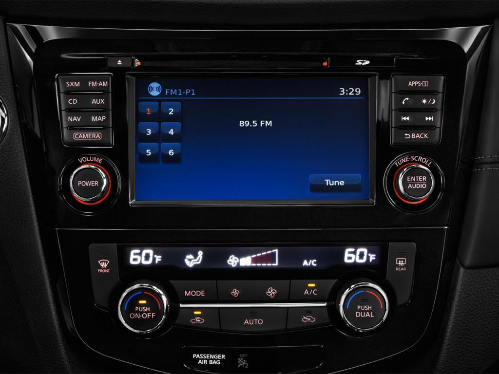 image  2017 nissan rogue fwd sl hybrid audio system  size  1024 x 768  type  gif  posted on