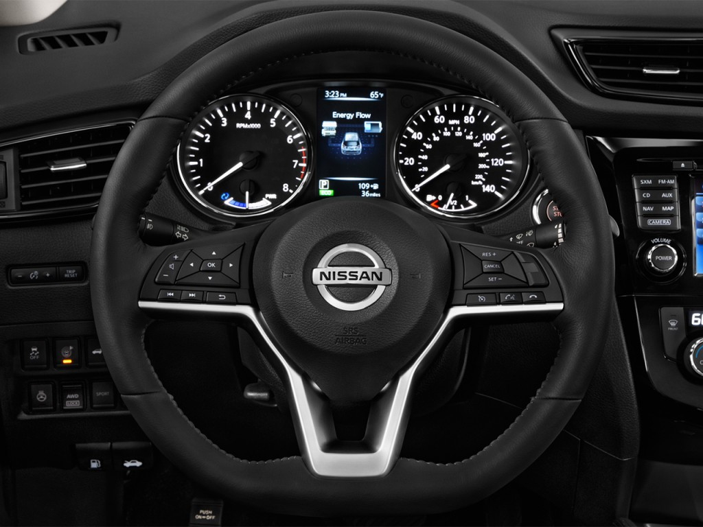 2019 Subaru Crosstrek Hybrid >> Image: 2017 Nissan Rogue FWD SL Hybrid Steering Wheel, size: 1024 x 768, type: gif, posted on ...