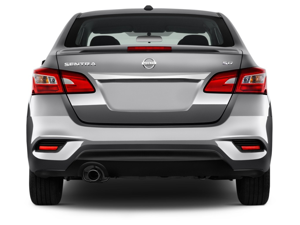 Image 2017 Nissan Sentra Sr Cvt Rear Exterior View Size