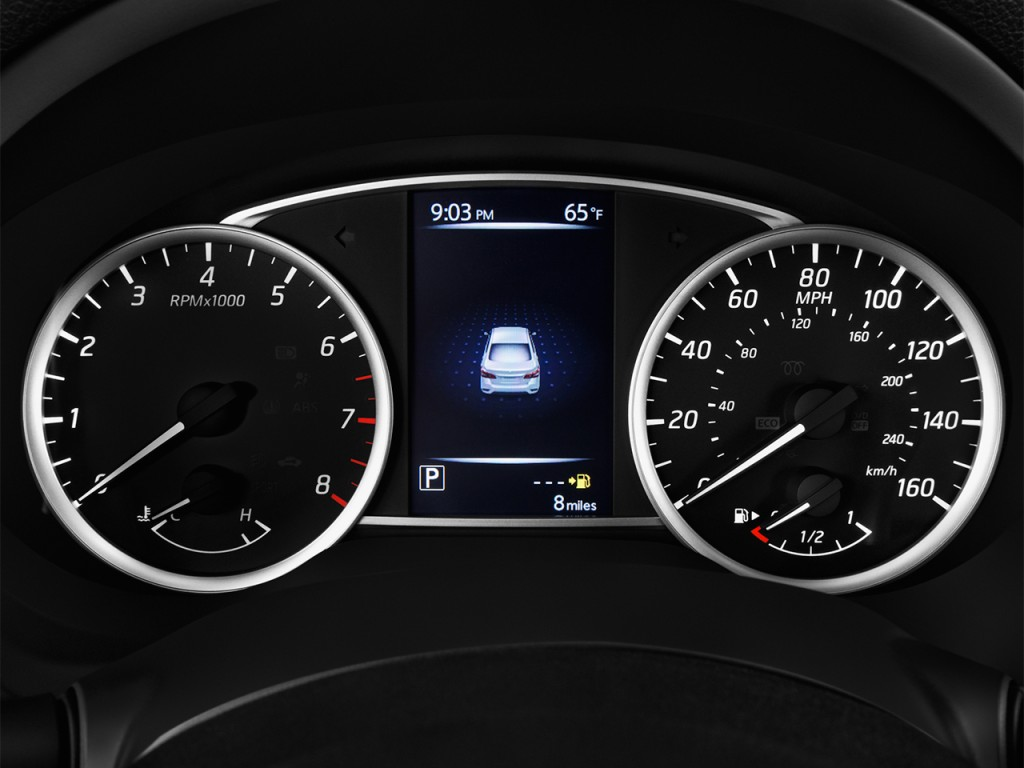 Image: 2017 Nissan Sentra SV CVT Instrument Cluster, size: 1024 x 768, type: gif, posted on ...