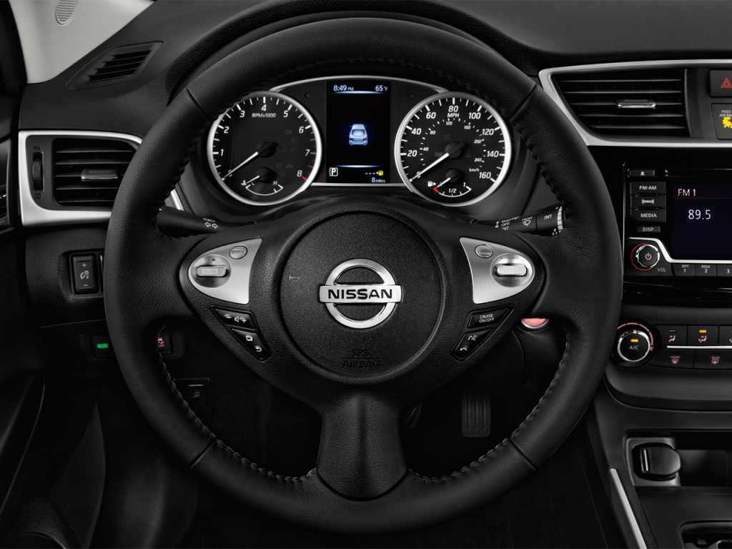 image 2017 nissan sentra sv cvt steering wheel size. Black Bedroom Furniture Sets. Home Design Ideas