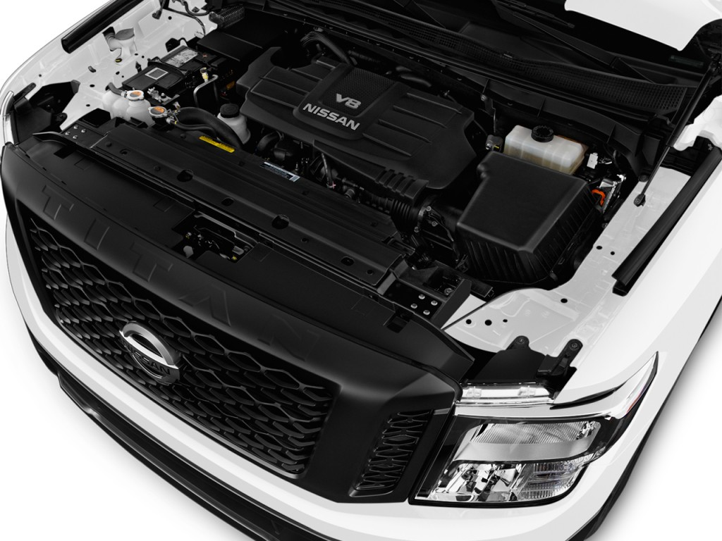 Image: 2017 Nissan Titan 4x2 Single Cab S Engine, size ...