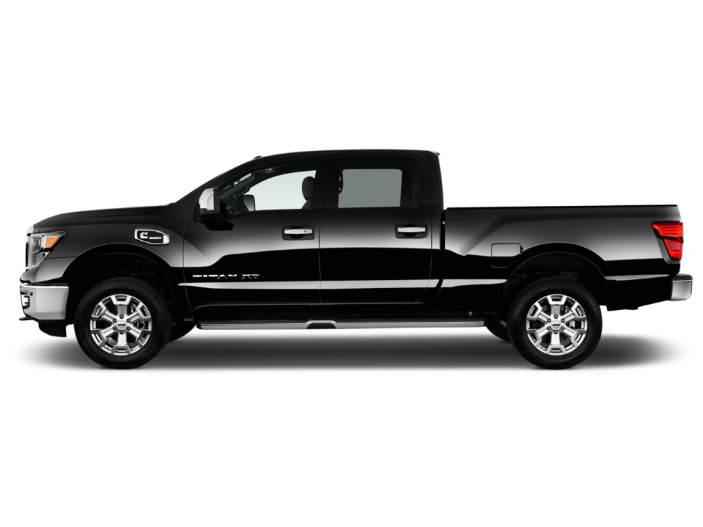 image 2017 nissan titan xd 4x2 diesel crew cab sl side exterior view size 1024 x 768 type. Black Bedroom Furniture Sets. Home Design Ideas