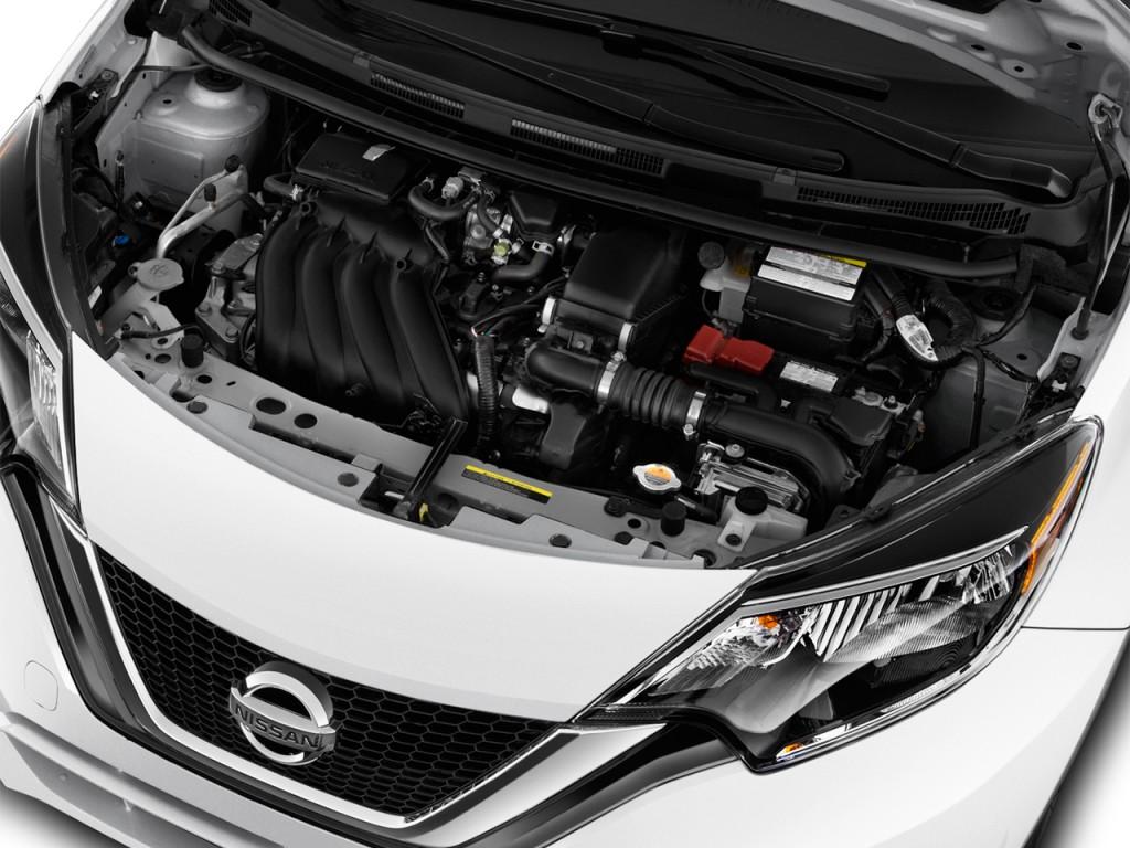 Image: 2017 Nissan Versa Note S Plus CVT Engine, size ...
