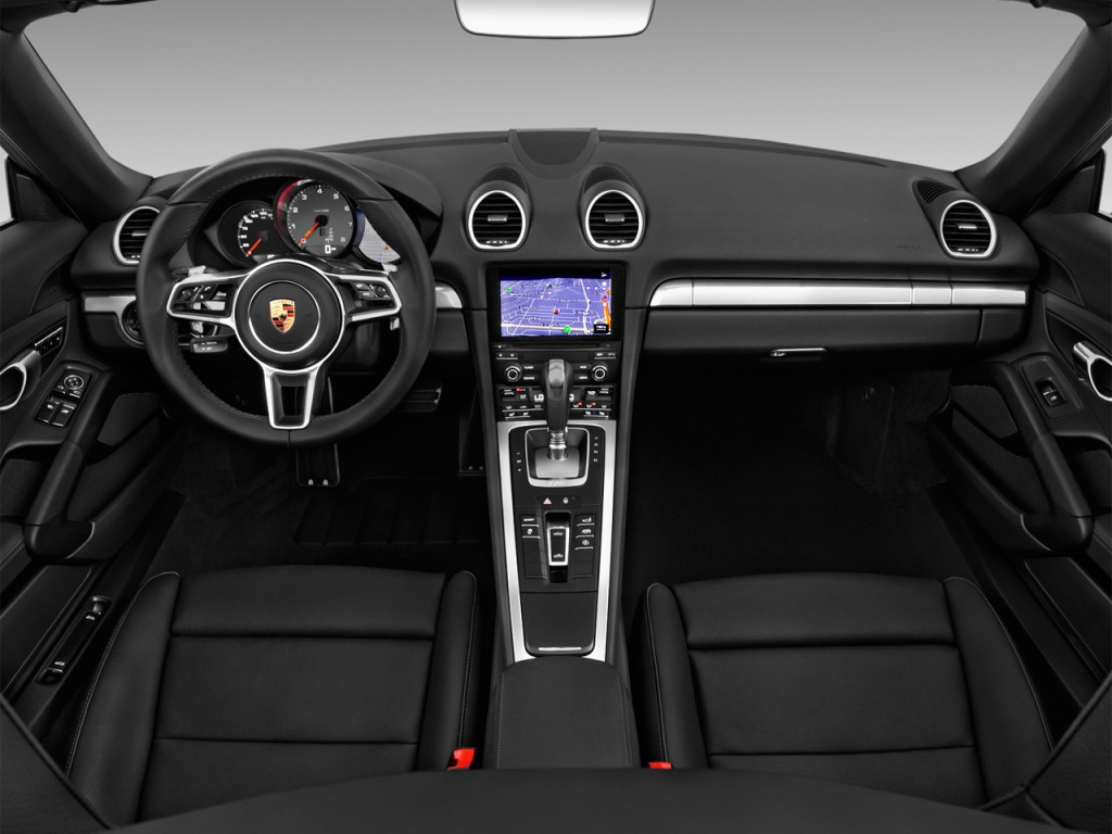 Image: 2017 Porsche 718 Boxster S Roadster Dashboard, size ...