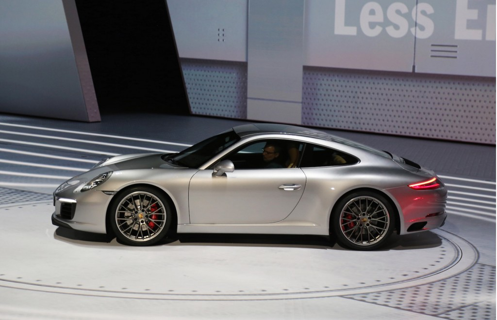 image 2017 porsche 911 carrera s 2015 frankfurt auto. Black Bedroom Furniture Sets. Home Design Ideas