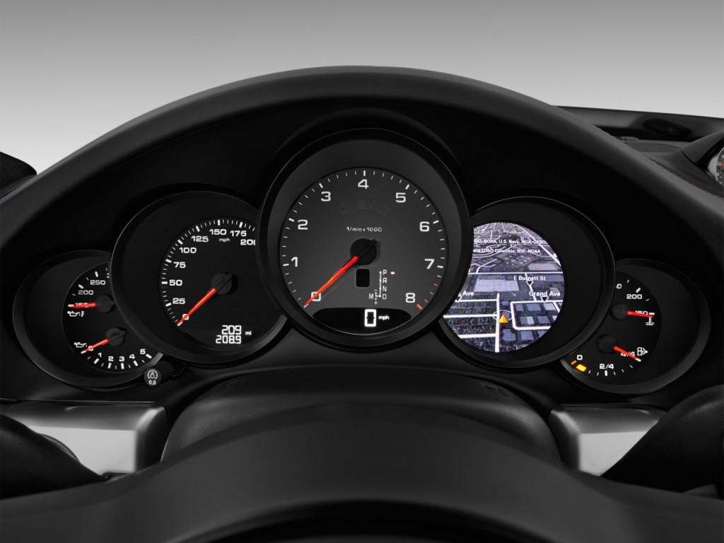 Image 2017 Porsche 911 Carrera S Coupe Instrument Cluster