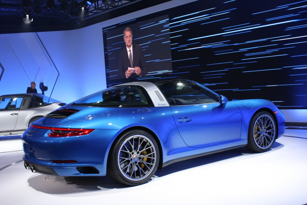 Image: 2017 Porsche 911 Targa 4S, 2015 Los Angeles Auto ...
