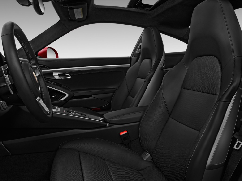 Image: 2017 Porsche 911 Turbo Coupe Front Seats, size ...
