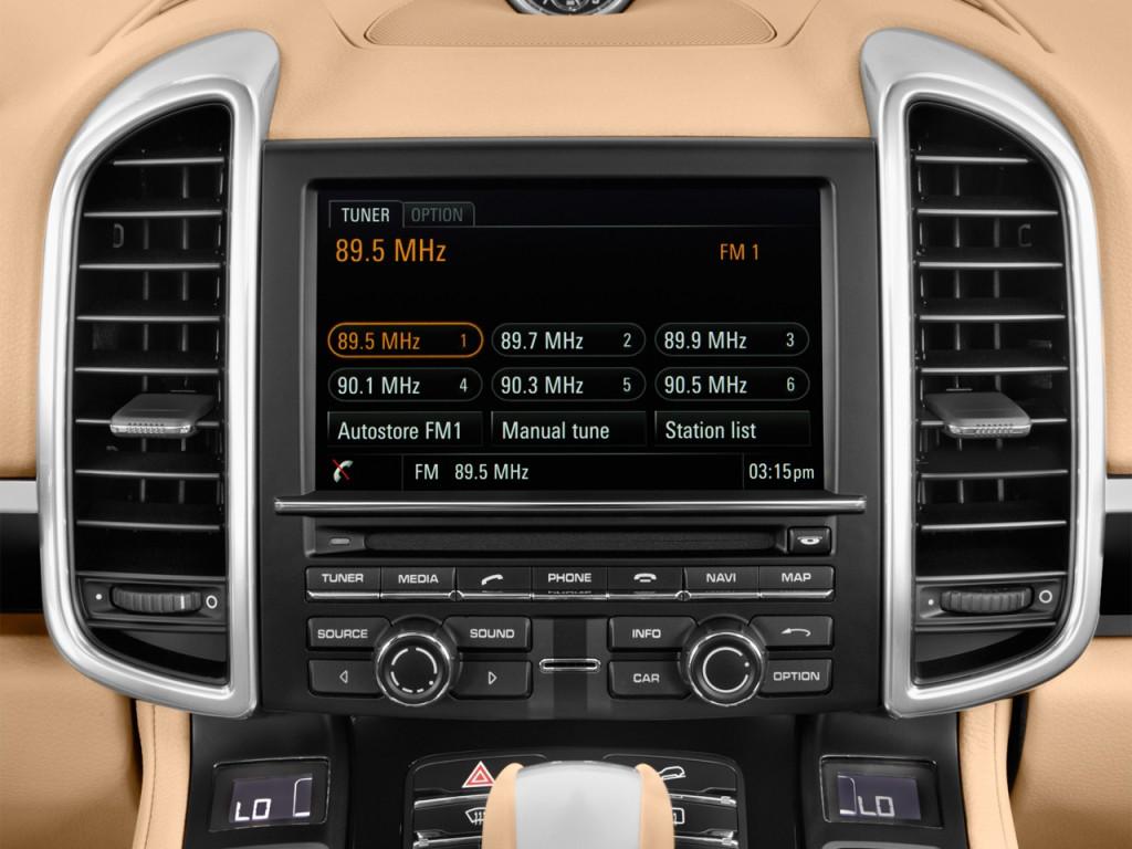 Image: 2017 Porsche Cayenne AWD Audio System, size: 1024 x ...