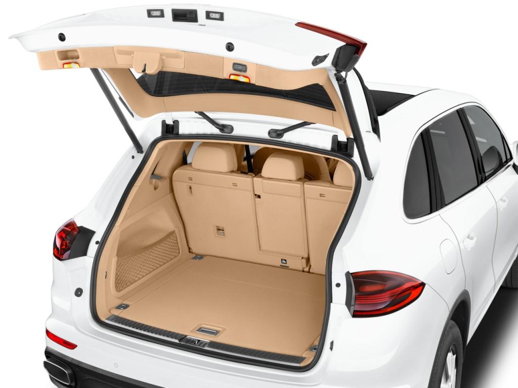 Image: 2017 Porsche Cayenne AWD Trunk, size: 1024 x 768 ...