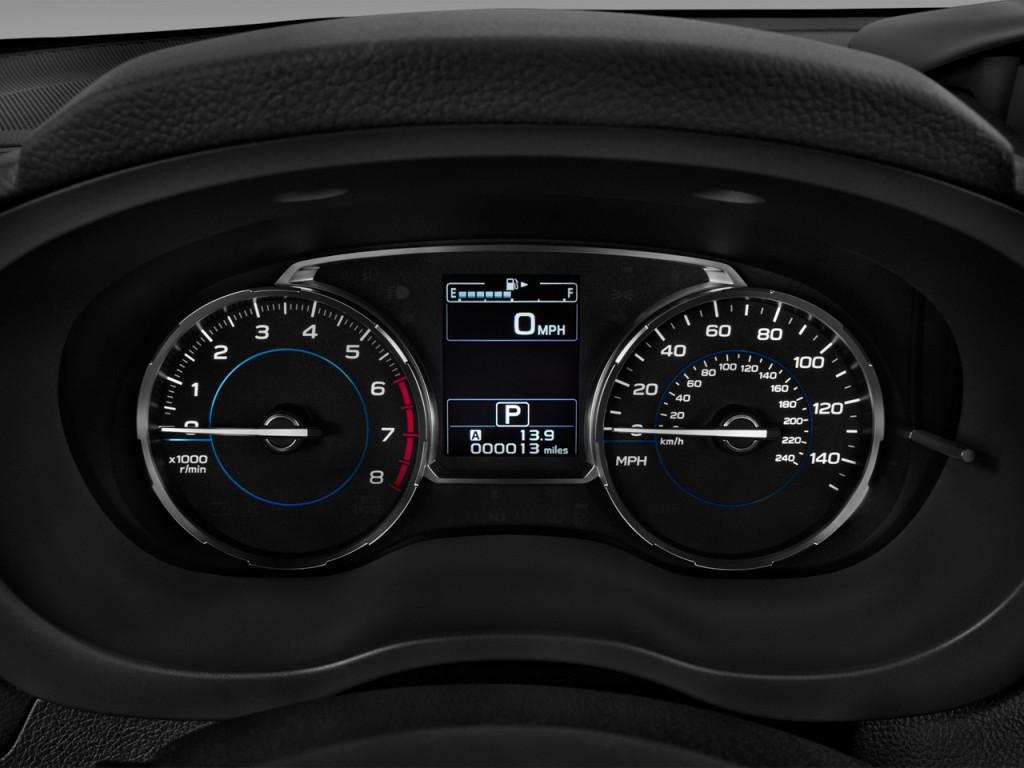 Image 2017 Subaru Forester 2 5i Limited Cvt Instrument