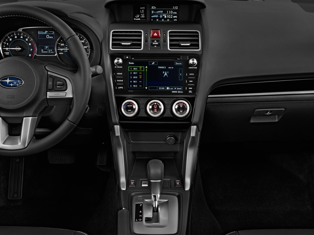 Image: 2017 Subaru Forester 2.5i Limited CVT Instrument ...