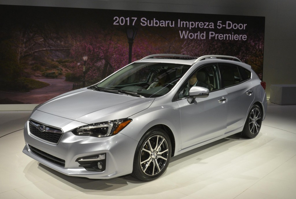 2017 Subaru Impreza 5 Door 2016 New York Auto Show