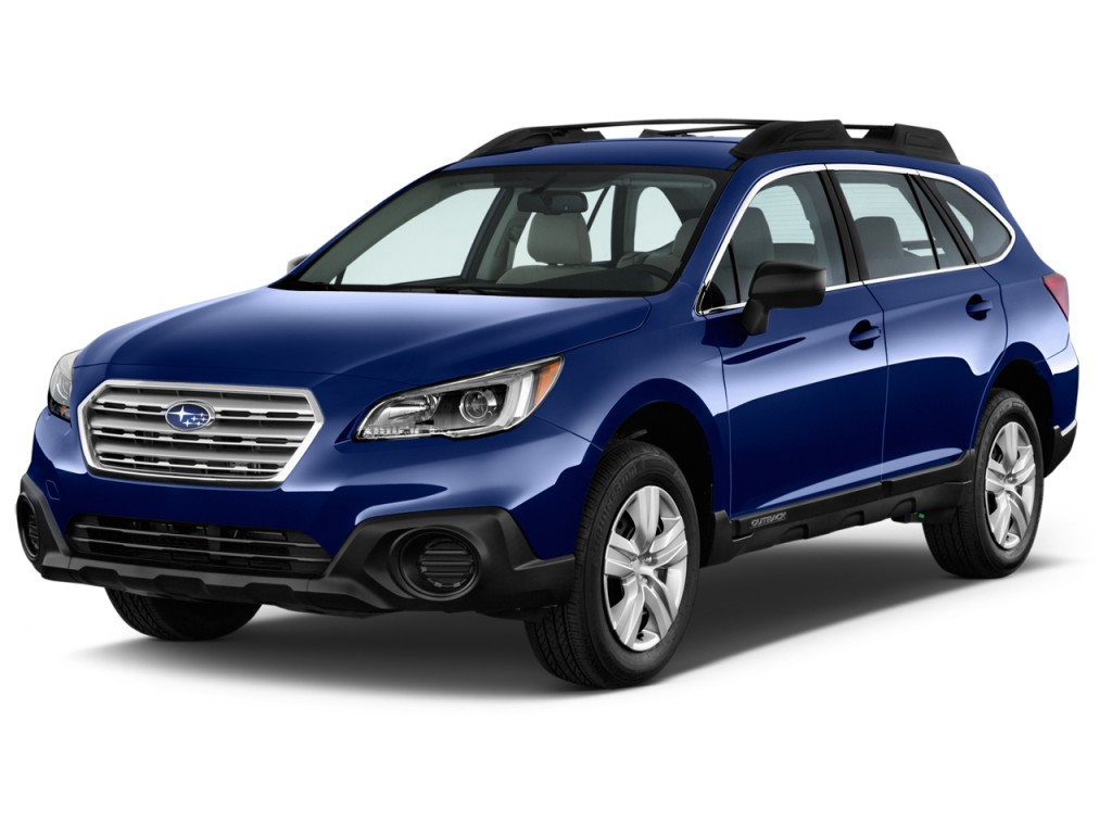 Subaru Legacy: Examples of the types of accidents in which the driver'sdriver's and front passenger's SRS frontal airbag(s) will basically not deploy