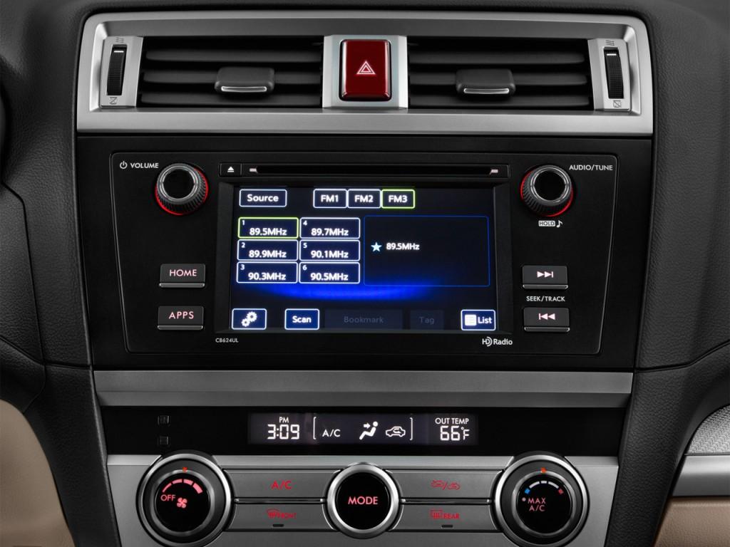 Image: 2017 Subaru Outback 2.5i Wagon Audio System, size ...
