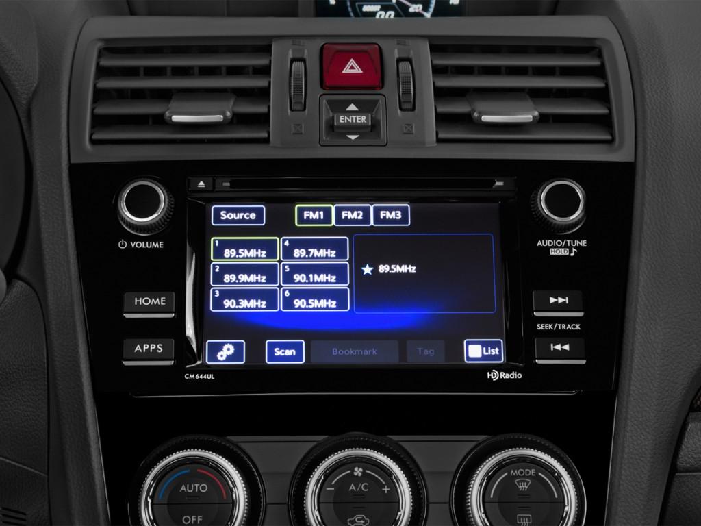 image  2017 subaru wrx manual audio system  size  1024 x