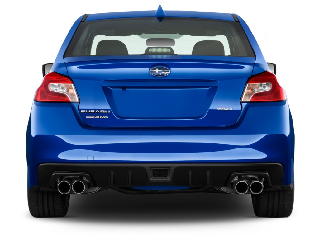 Image 2017 Subaru Wrx Manual Rear Exterior View Size