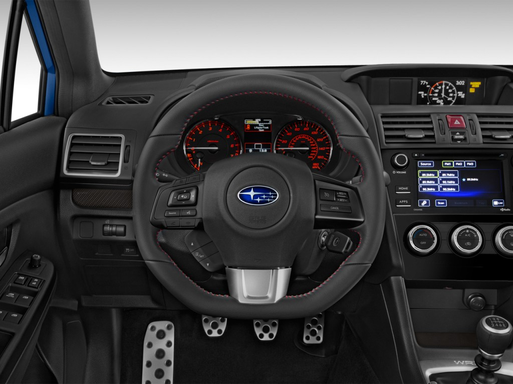 Image: 2017 Subaru WRX Manual Steering Wheel, size: 1024 x ...