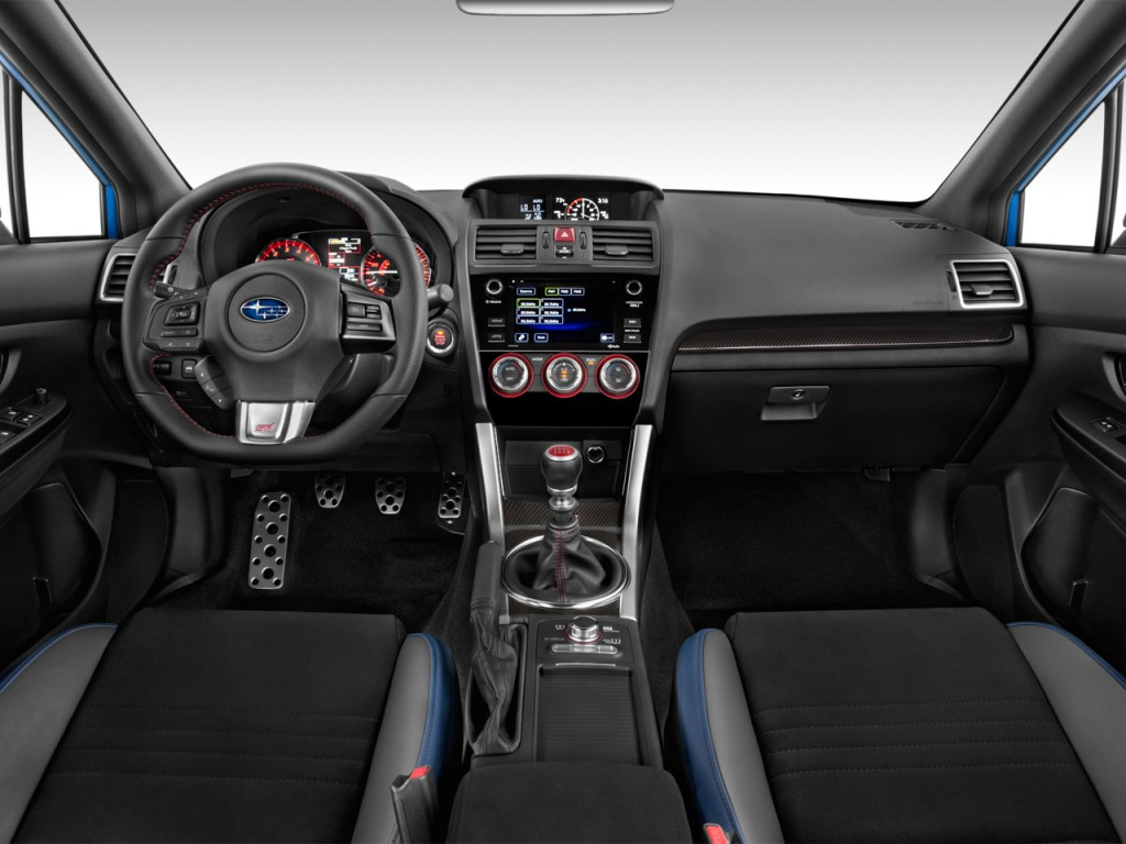 Image 2017 Subaru Wrx Sti Manual Dashboard Size 1024 X