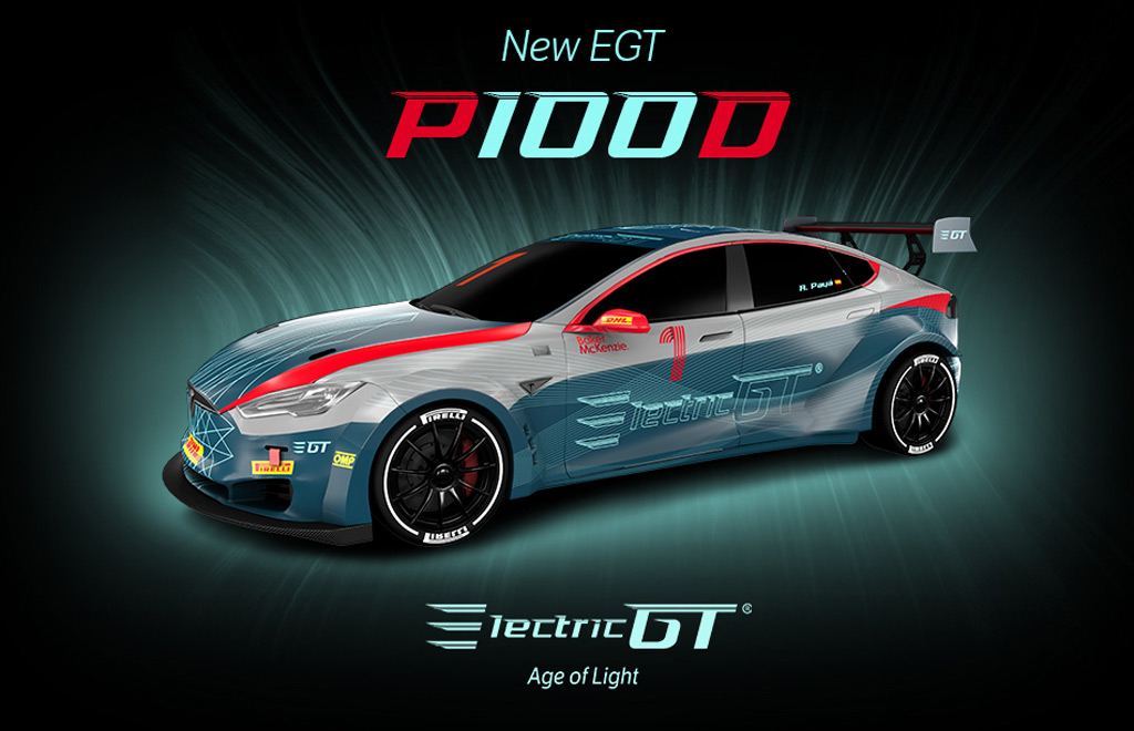 778 Hp Tesla Model S Electric Gt Racer Does 0 62 Mph In 2 1 Seconds
