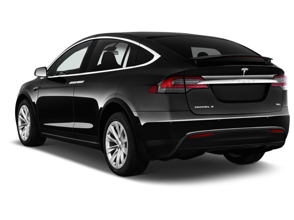 Image 2017 Tesla Model X 75d Awd Angular Rear Exterior