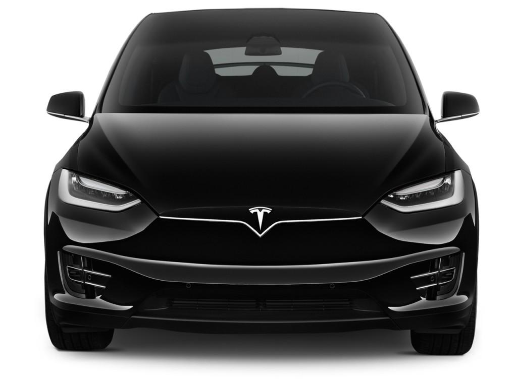 Image: 2017 Tesla Model X 75D AWD Front Exterior View ...