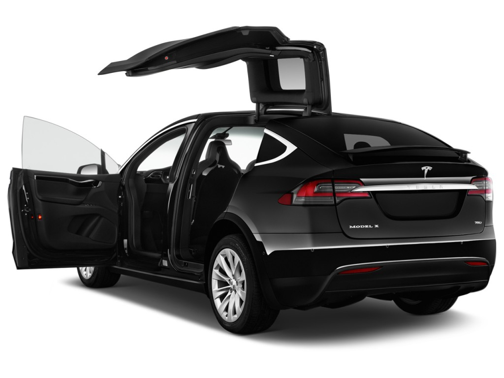 2017 Tesla Model X 75D AWD Open Doors  sc 1 st  Green Car Reports : open doors 2017 - pezcame.com