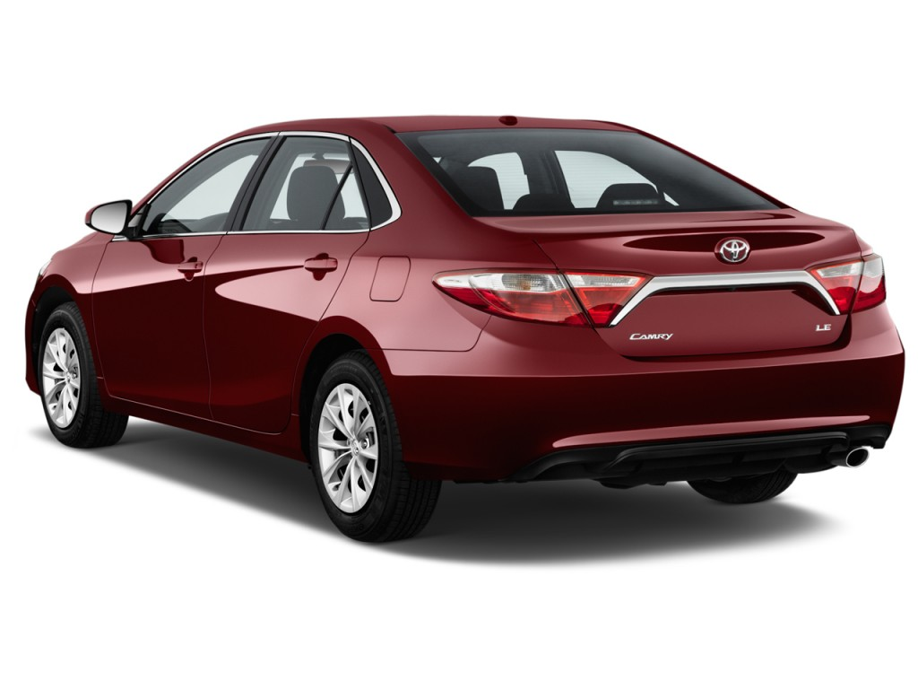 Image 2017 Toyota Camry Le Automatic Natl Angular Rear