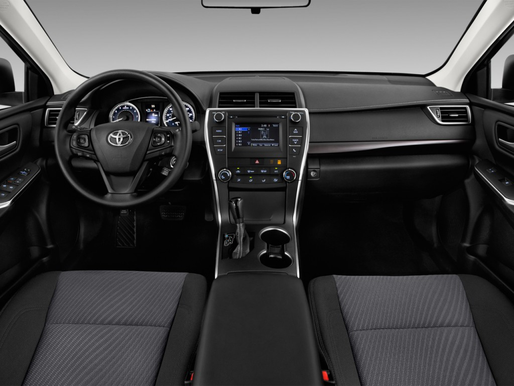 image 2017 toyota camry le automatic natl dashboard. Black Bedroom Furniture Sets. Home Design Ideas