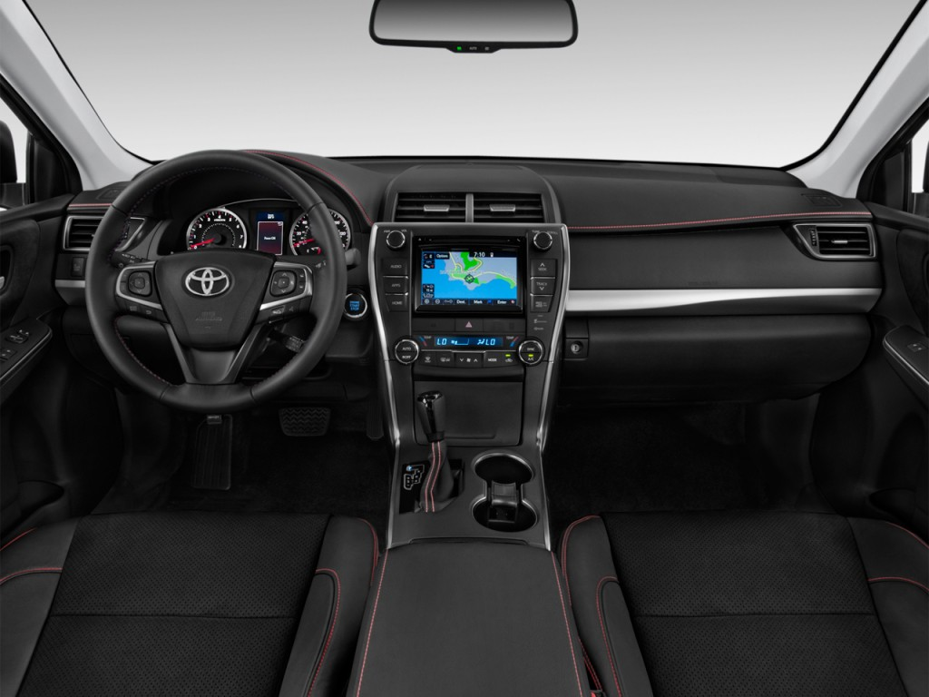 Image 2017 Toyota Camry Xse Automatic Natl Dashboard Size 1024 X 768 Type Gif Posted On