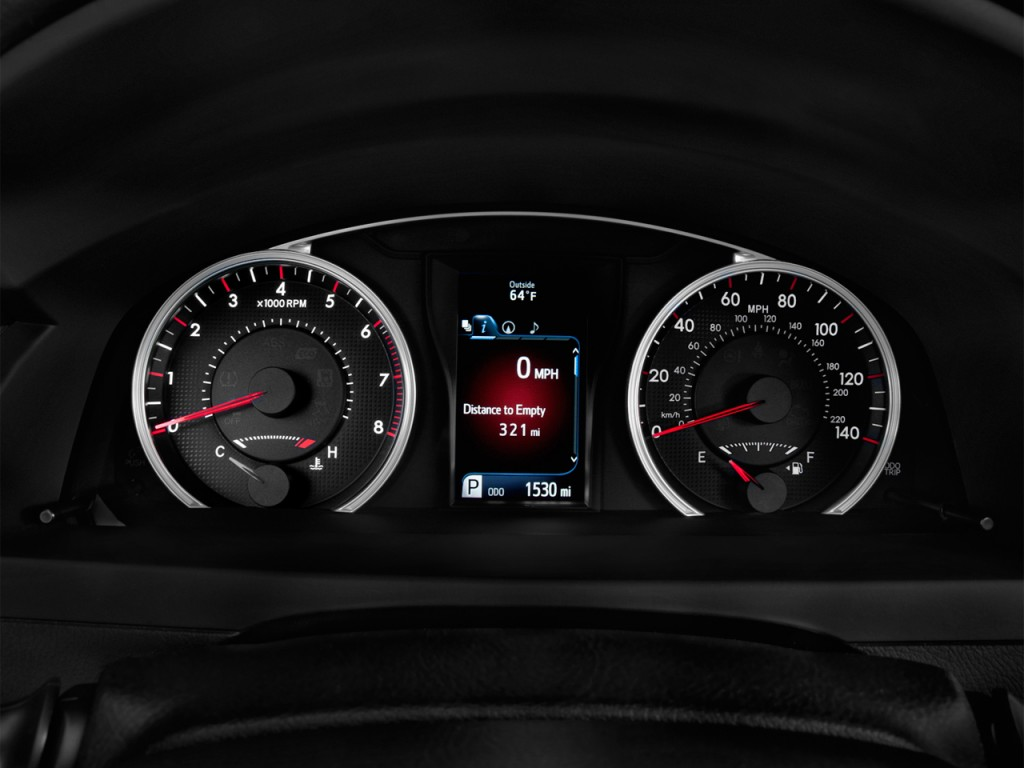 Image: 2017 Toyota Camry XSE Automatic (Natl) Instrument ...