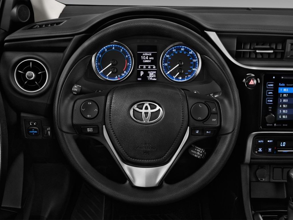 image 2017 toyota corolla le eco cvt automatic natl steering wheel size 1024 x 768 type. Black Bedroom Furniture Sets. Home Design Ideas