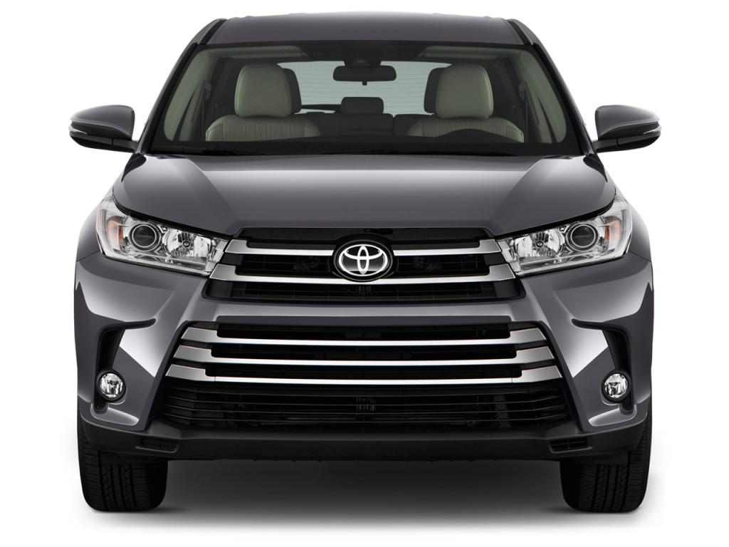 image 2017 toyota highlander le plus v6 fwd natl front exterior view size 1024 x 768 type. Black Bedroom Furniture Sets. Home Design Ideas