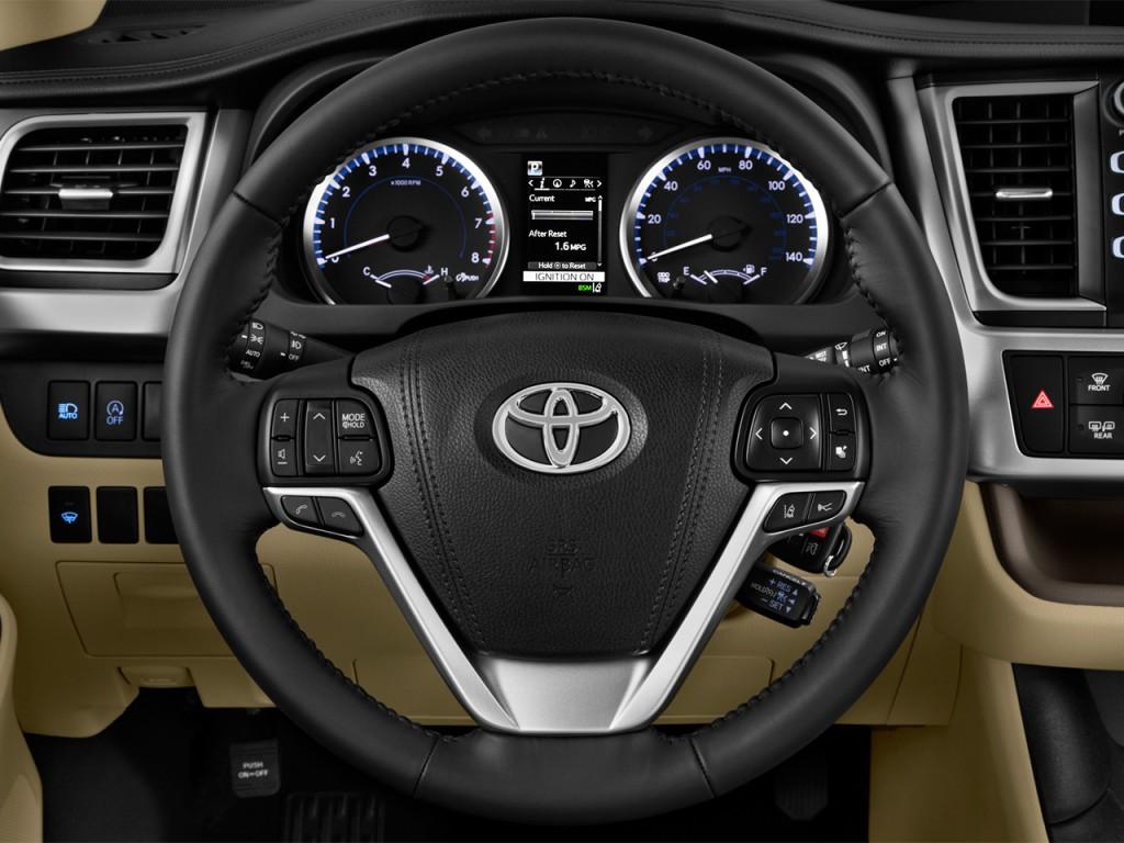 image 2017 toyota highlander le plus v6 fwd natl steering wheel size 1024 x 768 type gif. Black Bedroom Furniture Sets. Home Design Ideas