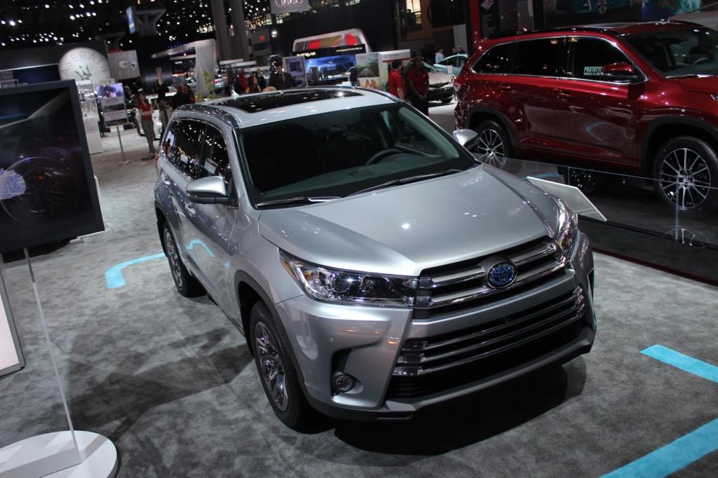 Image: 2017 Toyota Highlander Hybrid - 2016 New York Auto ...