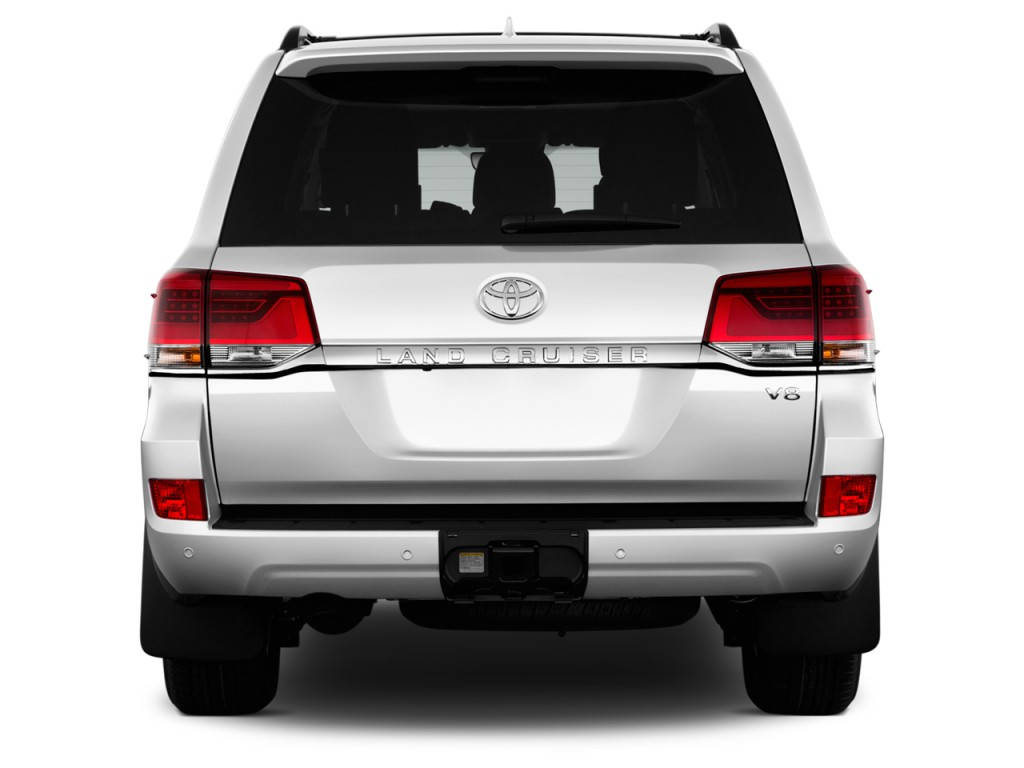 Image 2017 Toyota Land Cruiser 4wd Natl Rear Exterior View Size 1024 X 768 Type Gif
