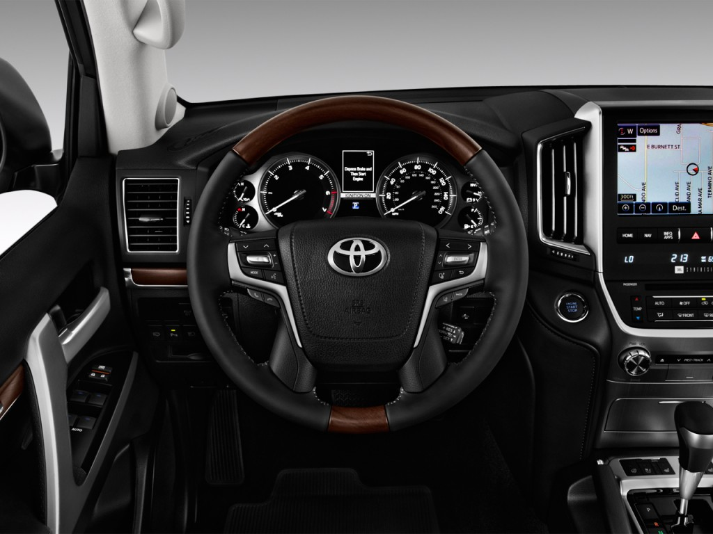 Image: 2017 Toyota Land Cruiser 4WD (Natl) Steering Wheel ...