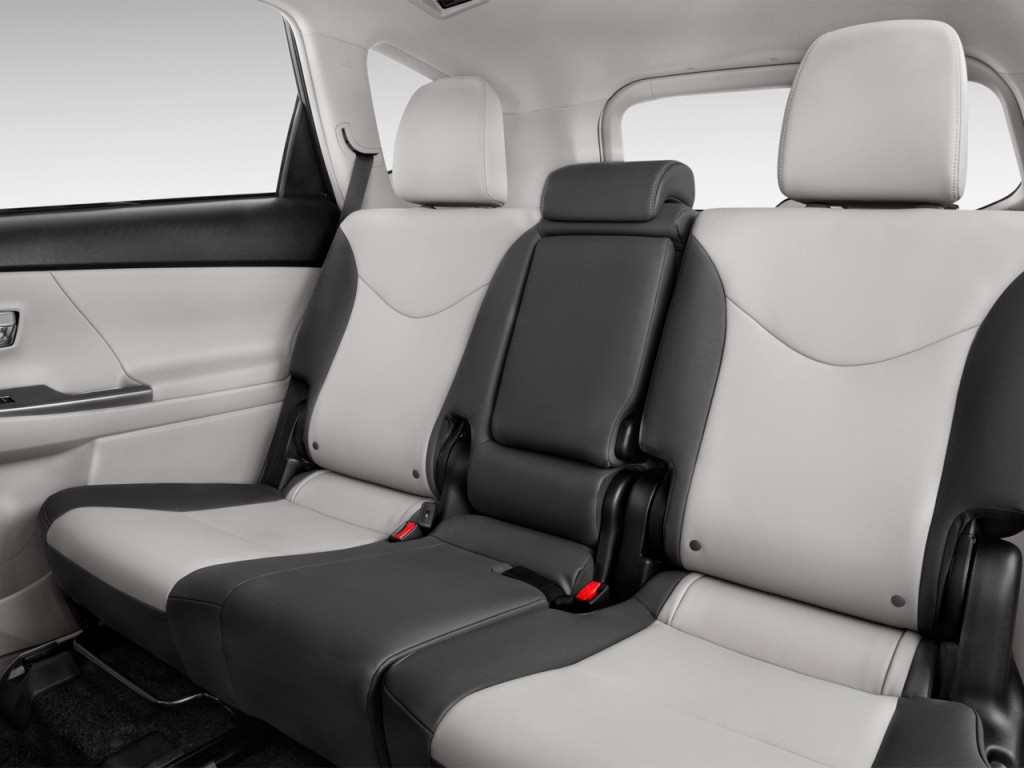image 2017 toyota prius v four natl rear seats size. Black Bedroom Furniture Sets. Home Design Ideas