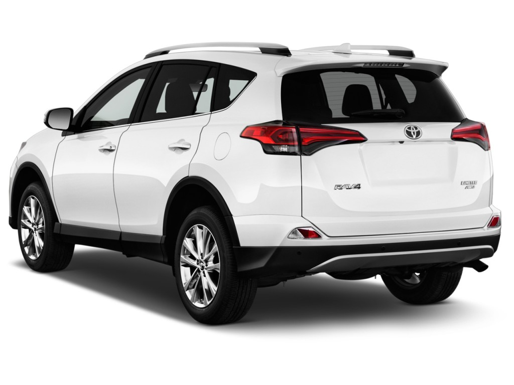 Image: 2017 Toyota RAV4 Limited AWD (Natl) Angular Rear ...