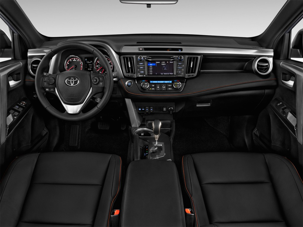 2016 Tundra Diesel >> Image: 2017 Toyota RAV4 SE FWD (Natl) Dashboard, size: 1024 x 768, type: gif, posted on: April ...