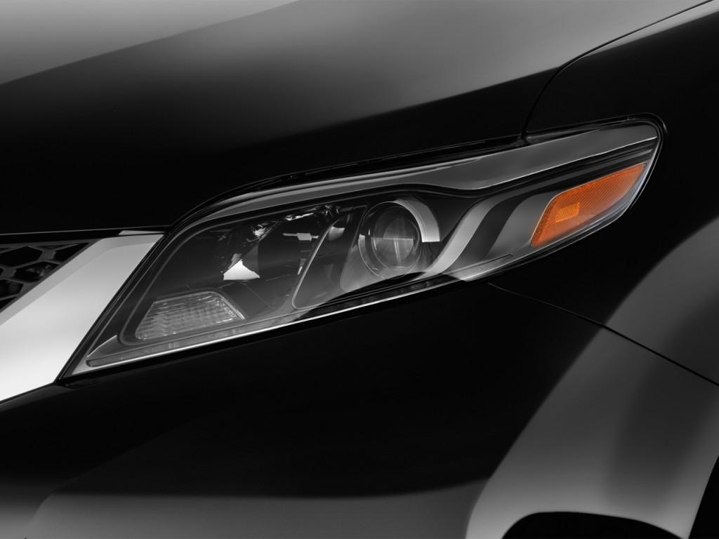 2017 toyota sienna se fwd 8 passenger natl headlight